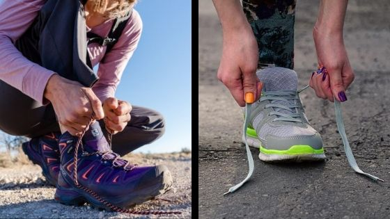 You Trail Run In Hiking Shoes Or Boots